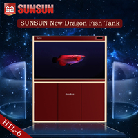 SUNSUN new view fish tank used fish tanks for sale for office