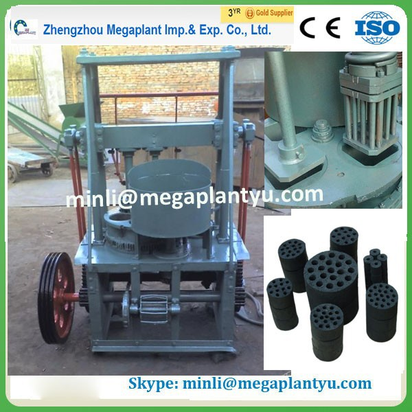 multipurpose coal and charcoal dust briquette machine