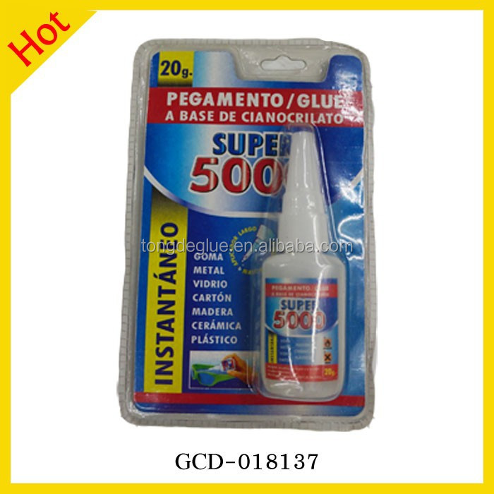 Top Quality 502 Cyanoacrylate Adhesive 20g Super 5000 Glue For All Use