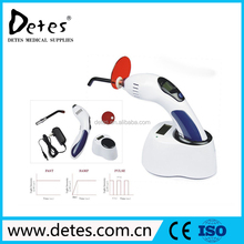Powerful wireless LED curing light for dental chair with CE FDA Approval