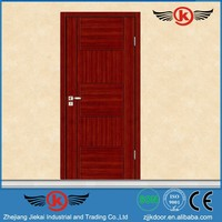 JK-W9215 JieKai wood door thresholds / cedar wood door / interior solid wood door