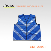 wholesale abibaba highway safety glow blue safety vest