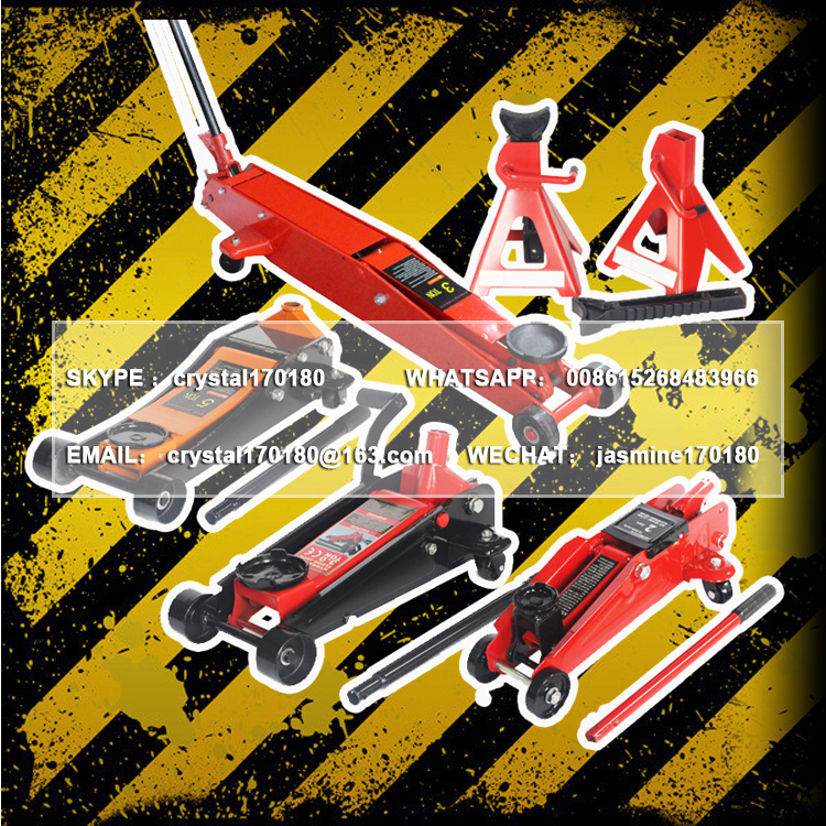 KC-(808) foot pedal jack hydraulic foot operated foot pump jack types of hydraulic car jack price for workshop