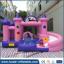 Hot sale inflatable bouncy castle, inflatable bouncy castle with water slide