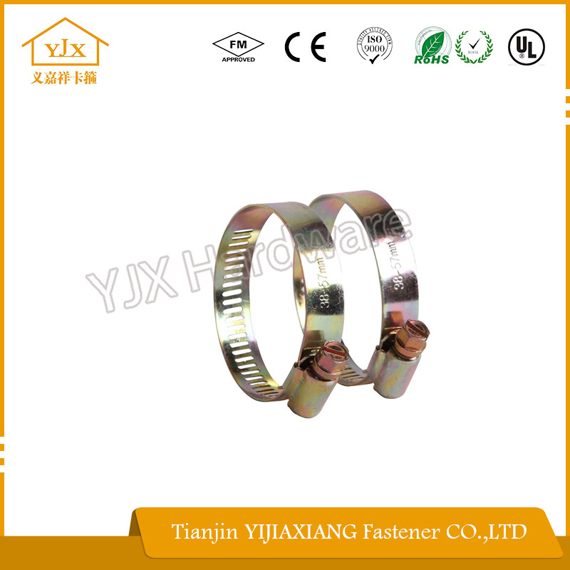 w4 304ss worm drive hose clips of chinese manufacturer