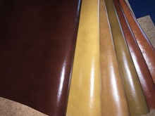 pu coating split upholstery furniture sofa leather with 25 meters length each roll