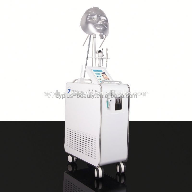 AYJ-Y80 New technology skin tightening oxygen jet facial machines device