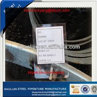 LSAW PIPE /API5L PSL2 A53 black paint