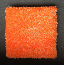 Sponge Type Orange color Automotive Car detailing Microfiber Plush Wash Pad