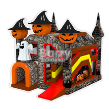 New design Halloween bounce house inflatables