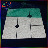 China Latest Modern Square Clip In Suspended Aluminum False Mirror Ceiling Tile