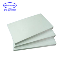 Lightweight Plastic Cutting Virgin White High Quality Custom Size Ptfe Board Molded Teflon Sheet