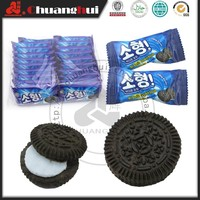 Similar Oreos Biscuits / Bag Packing 230g Mini Vanilla Sandwich Cracker