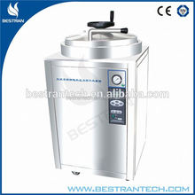 BT-100A CE ISO hospital high pressure steam vertical lab sterilizing equipment