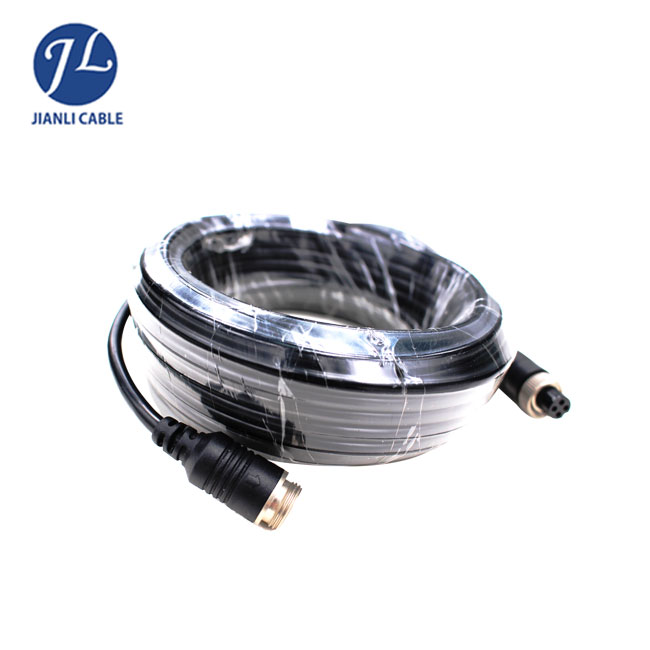 4 pin connector rca rj45 male to female extension cable to 5pin plug for cctv camera