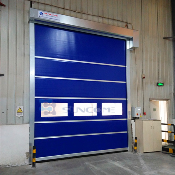 warehouse fabric remote control roll up door
