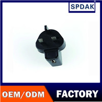Spdak brand UK 3 pin plug CE certification travel charger