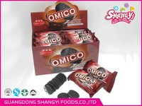 720g OMICO mini sandwich biscuit with display box