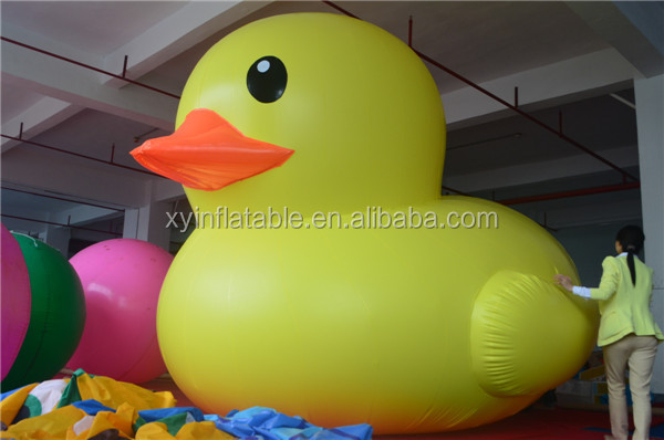 Advertising promotion giant inflatable duck for sale