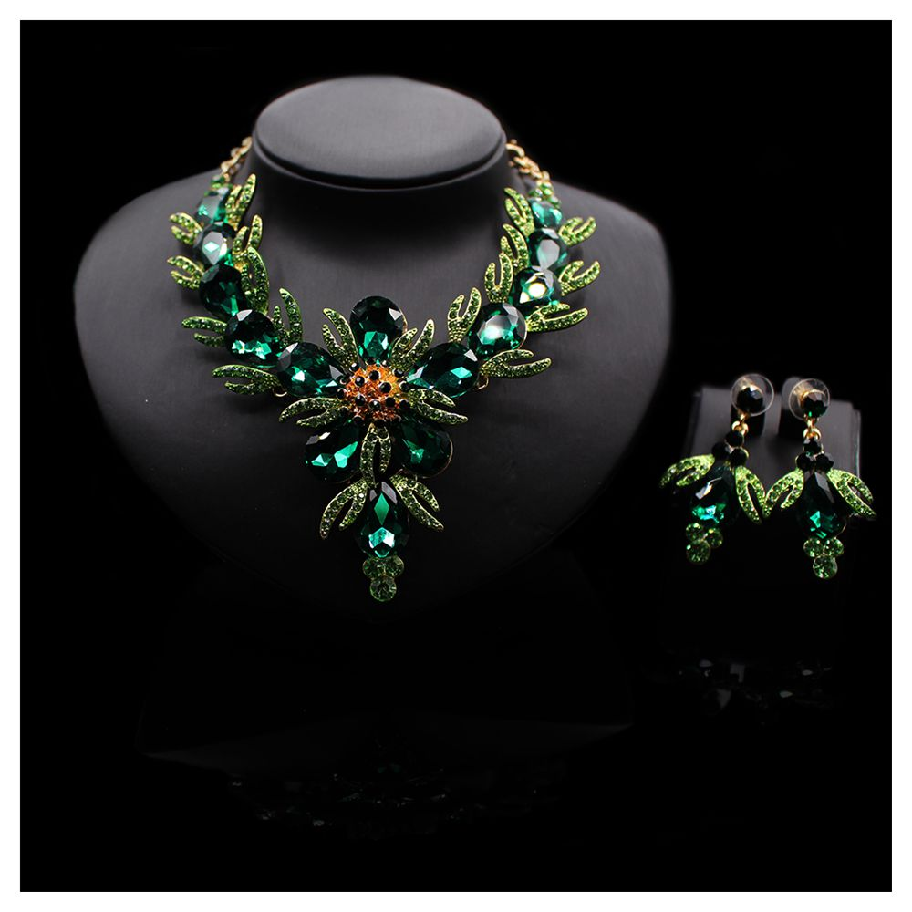 New arrival statement necklace polymer clay jewelry crystal jewelry