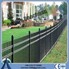 2014 hot sale horizontal aluminium fence / steel tube fence with high quality