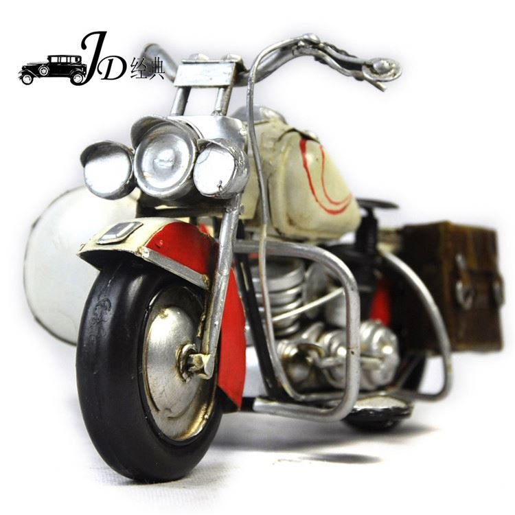 Wholesale prices good quality antique metal model motorcycle 2016