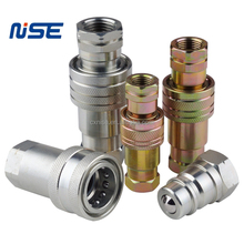 ISO5675 Ball Valve Type quick release coupling for hydraulic fittings parts
