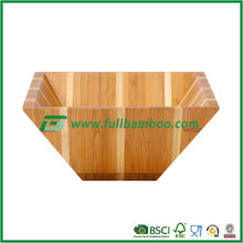 Food Grade Bamboo Bowl for Snack / Fruit / Salad / Vegetable