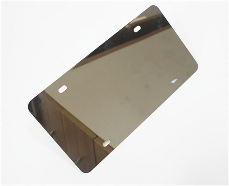 Nummernschild Rahmen metallabdeckung Bug Shield Tag Schutz Auto Lkw ...