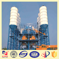 China made 50m3/h mobile concrete plants