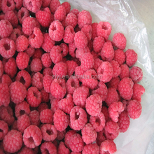 IQF fruits and frozen raspberry crumble