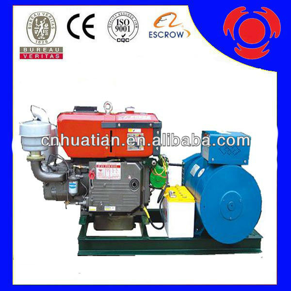 Small Type Diesel Gensets 12kw/15KVA ChangChai Diesel Generator With ZS1105 Engine