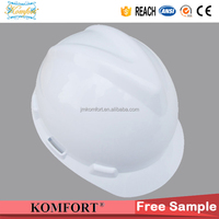 Hard hat CE en397 V style, cheap factory safety helmet price, ANSI custom safety helmet