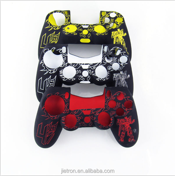 Fashion cover for the silicone case for PS4 controller