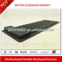 silicon flexible ergonomic keyboard for ipad 2 with bluetooth 3.0