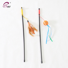 China Supply Pet Products New Style Cat Teaser Stick Toy