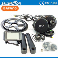 8FUN 750w 48v Bafang motor BBS02 48v750w central drive electric bicycles conversion kit