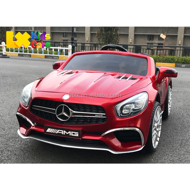 2017 new model licensed Mercedes Benz SL65 ride on electric toy cars for kids with remote control