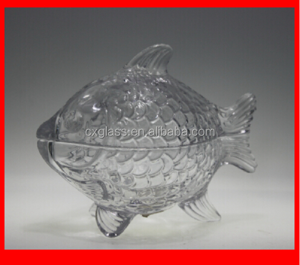 machine made fish glass jar for food