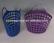 small flexible plastic handy storage basket