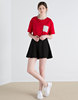 Fashion Fancy Mini Skater Skirt Top Design For Women Picture HSS5067