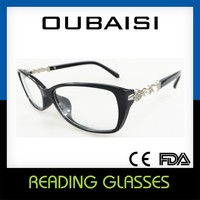 2015 new 1 dollar design optics LED reading glasses