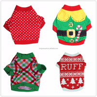 Stockings Cute Holiday Dog Clothes for Christmas
