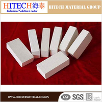 light weight mullite insulation refractory brick for preburning zone of cement Rotary Kiln