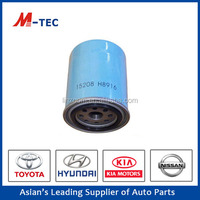 Suppliler of competitive price Oil Filter with OE NO.15208-H8916 used for toyota
