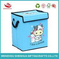 Custom Cute Cartoon Storage Box Clothing