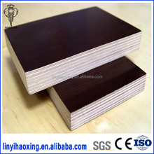 Exterior 18mm Waterproof Poplar Laminated Marine Plywood