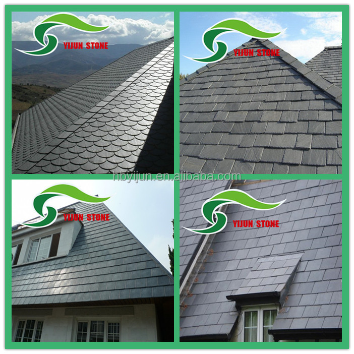Best Selling Chinese Black Roof Slate Cheap Slate For Roofing Price