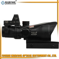 4x32 ACOG Scope with Dual Illuminated Red Crosshair
