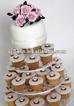 Acrylic Cupcake Display/ Acrylic Cake Holder/ Acrylic Cake Rack